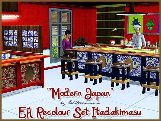 Sims 3 set, objects, furniture