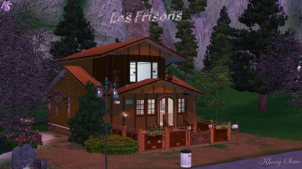 Sims 3 house, lot, residential, sims 3, rubs, windows