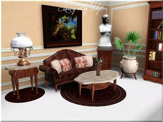 Sims 3 living, livingroom, sofa, objects, furniture