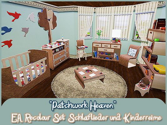 Sims 3 bedroom, furniture, objects, decorative, kids