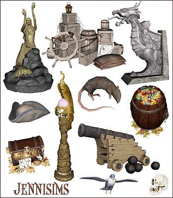 Sims 3 objects, decor, medieval