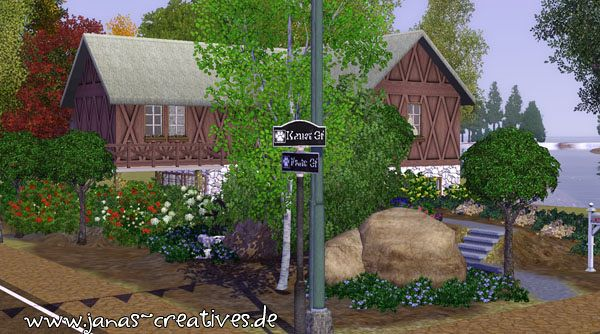 Sims 3 winery, lot, residential, farm