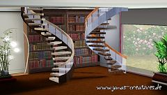 Sims 3 stairs, mesh, build
