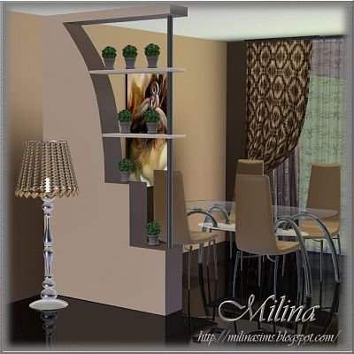 Sims 3 decor, partisions, wall