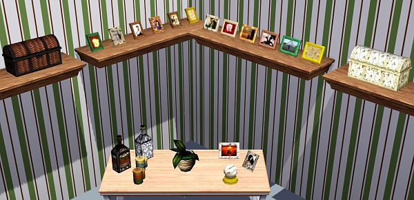 Sims 3 objects, decor, clutters