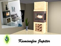 Sims 3 fireplace, build, arhitecture