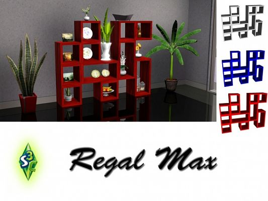 Sims 3 shelf, decor, objects, sims3
