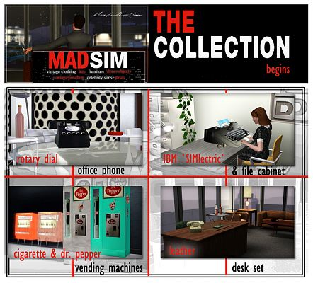 Sims 3 retro, objects, decor, clothing, furniture