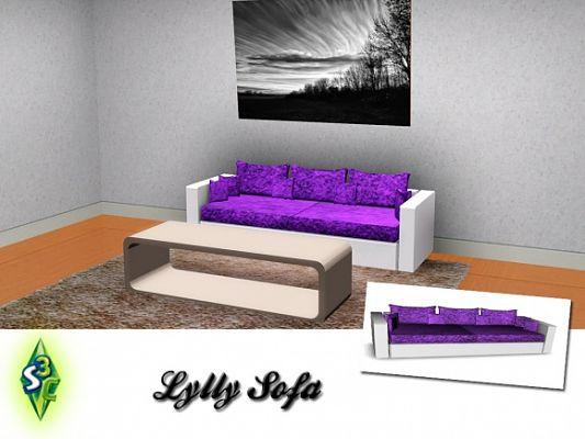 Sims 3 sofa, furniture, objects, sims 3