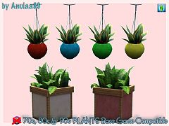 Sims 3 conversion, plants, base game