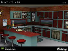 Sims 3 kitchen, objects, furniture, sims 3