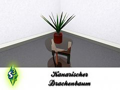 Sims 3 plant, decor, object, dragon tree