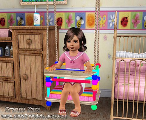 Sims 3 swing, objects, kids