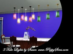 Sims 3 tube, lights, lighting, lamp