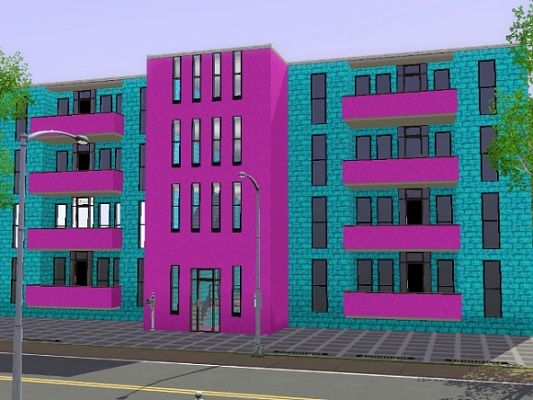 Sims 3 house, lot, apartment, sims3