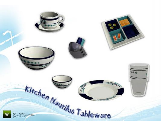 Sims 3 tableware, objects, decor, cutlery