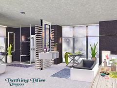 Sims 3 bathroom, objects, decorative
