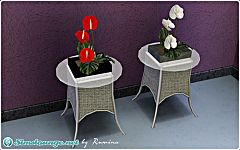 Sims 3 anthurium, flowers, plants, objects