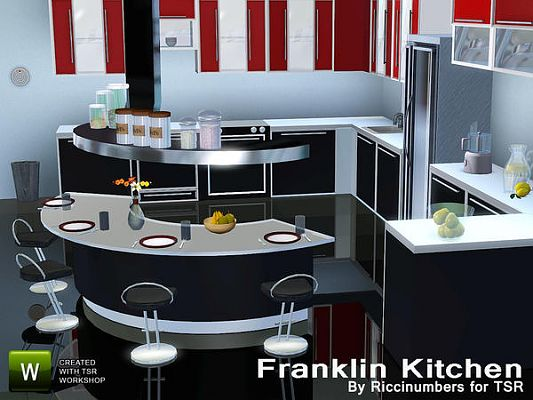 Sims 3 kitchen, objects, set, decor, furniture