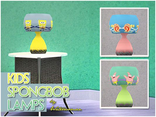 Sims 3 light , lamp, decor, object