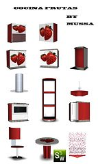 Sims 3 kitchen, furniture, objects