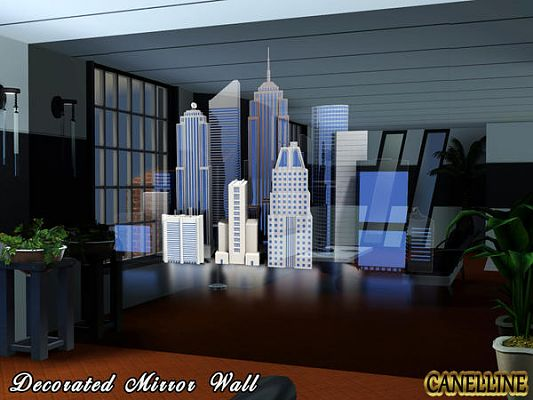 Sims 3 mirror, object, decor