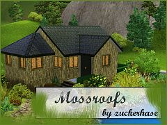 Sims 3 roof, build, sims3