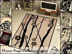 Sims 3 objects, rugs, sims3, decor