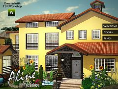 Sims 3 door, window, set, build