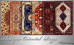 Sims 3 rug, rugs, persian, oriental, sims3, decor, objects