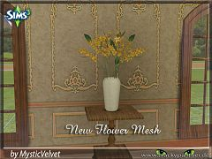 Sims 3 vase, flowers, decor, sims 3