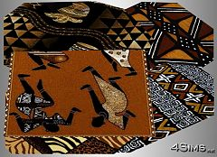 Sims 3 rug, rugs, kids, african, decor, objects