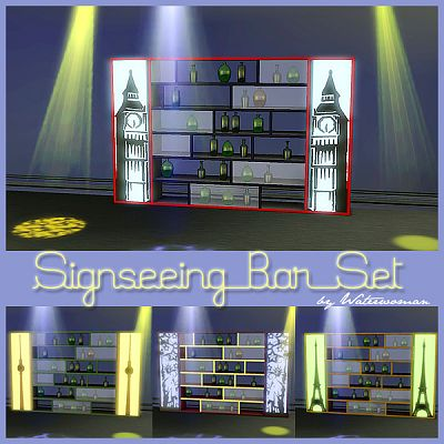 Sims 3 bar, furniture, sims3