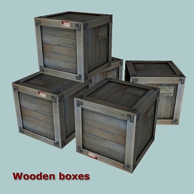 Sims 3 boxes, outdoor, decor