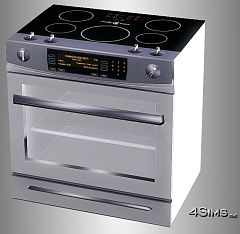 Sims 3 stove, ceramic, appliances, oven