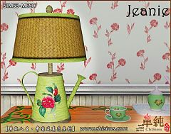 Sims 3 light, lamp, watering pot