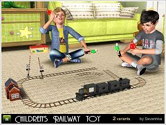 Sims 3 railway, toy, train, objects, kids