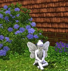 Sims 3 decor, fairy, outdoor, garden