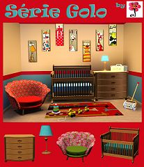 Sims 3 furniture, kids, sims 3