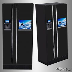 Sims 3 refrigerator, fridge, apliances, tv, modern