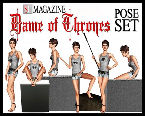 Sims 3 pose, pose, set, sf, dame of thrones