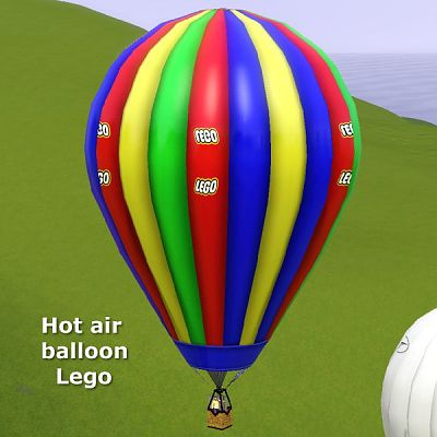 Sims 3 air balloon