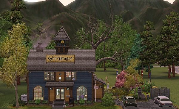 Sims 3 lot, community,  consignment