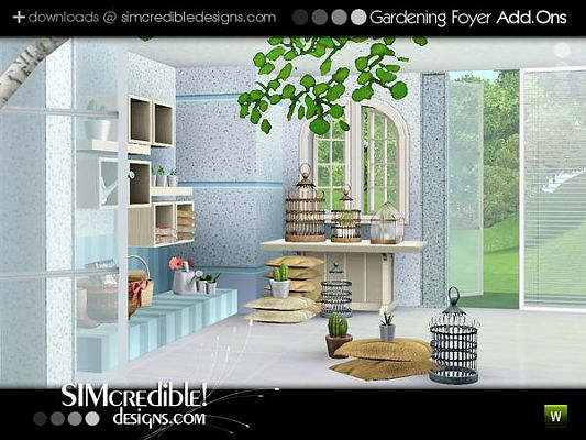 Sims 3 garden, outdoor, furniture, set, objects