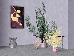Sims 3 plants, decor, objects, flower