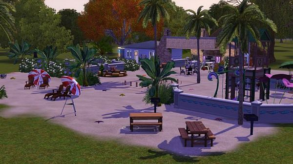 Sims 3 residential, house, building, lot