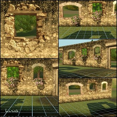 Sims 3 windows, objects, build
