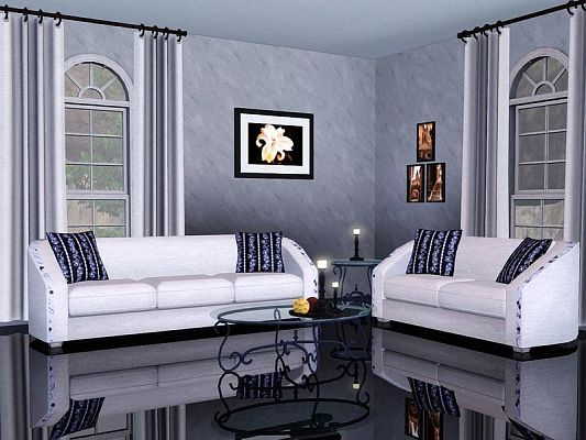 Sims 3 livingroom, objects, decor, furniture