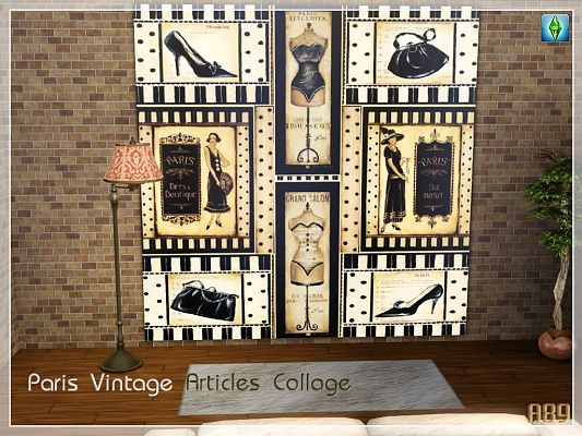 Sims 3 wallpaper, decor, painting, poster