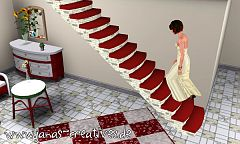 Sims 3 stair, build, mesh
